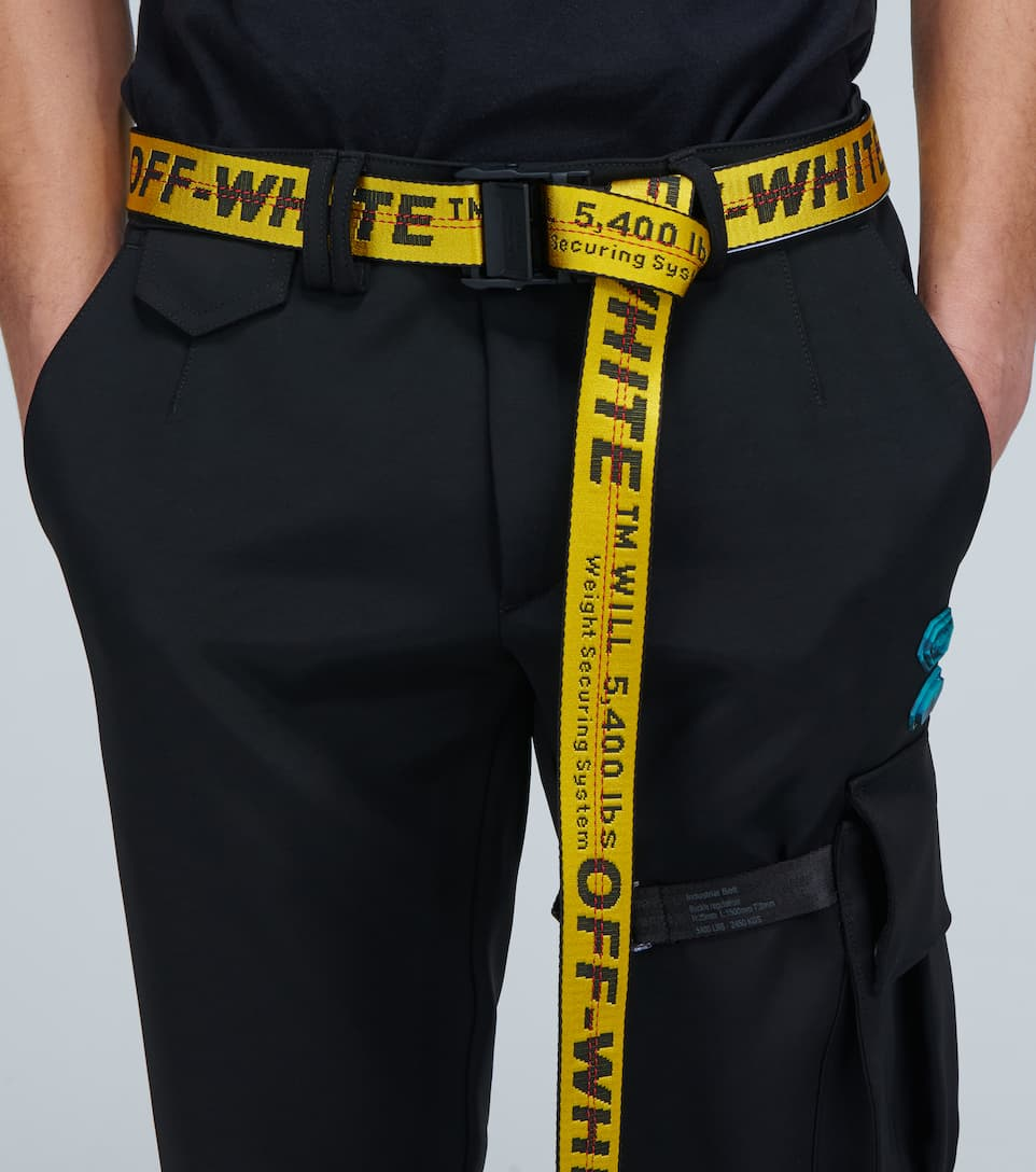 off white industrial pants