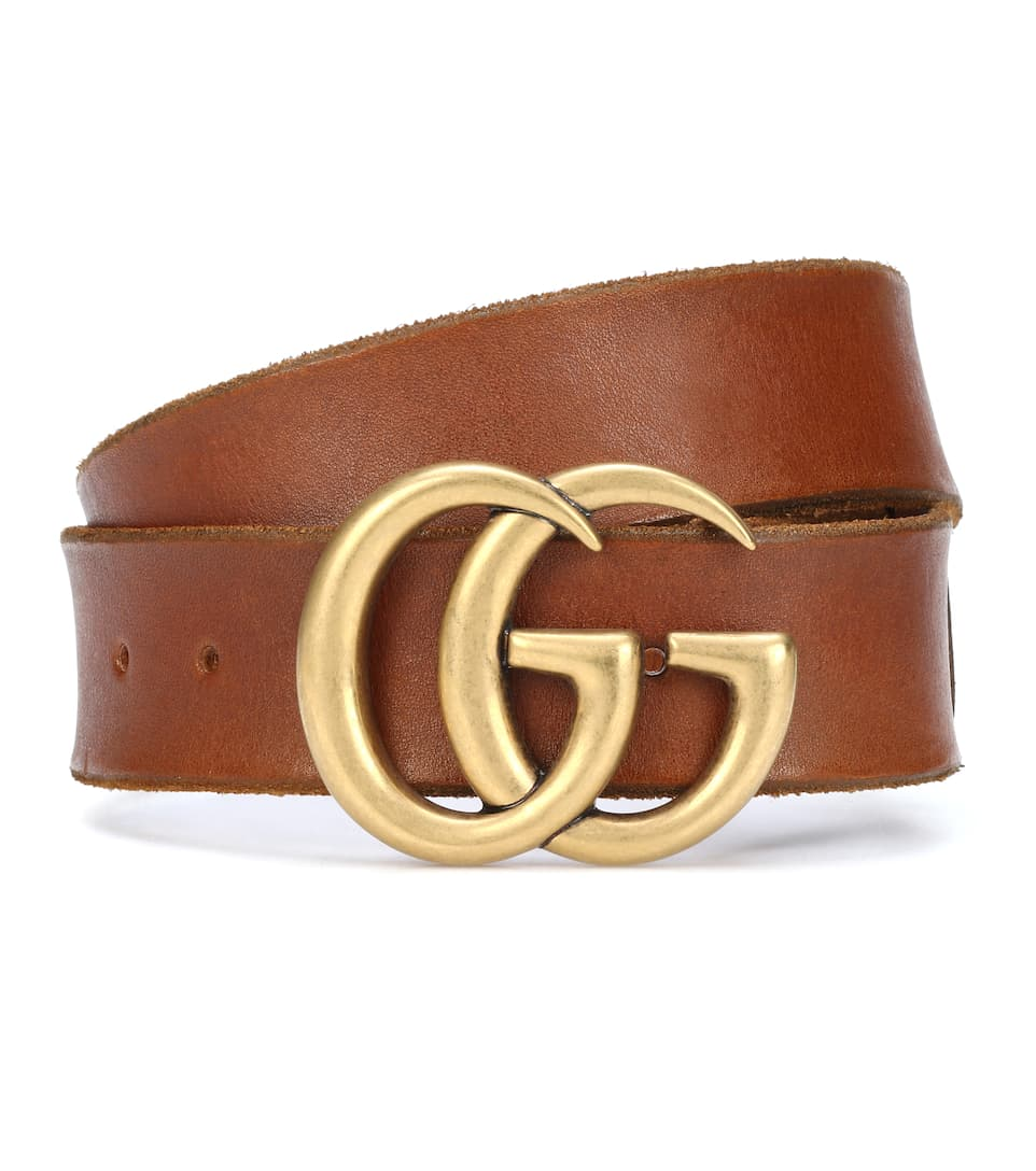 09843cabe7d Embellished Leather Belt - Gucci | mytheresa.com