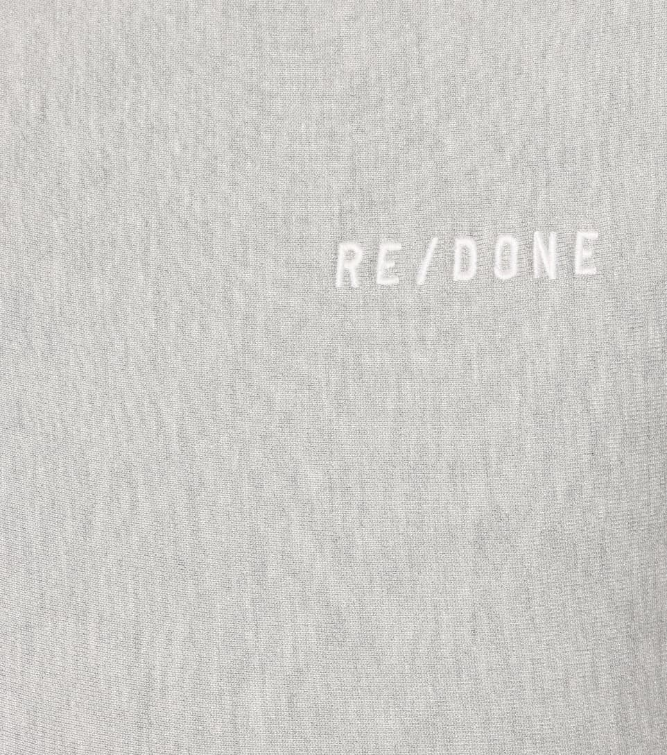 Re/Done Baumwollpullover Reverse Weave