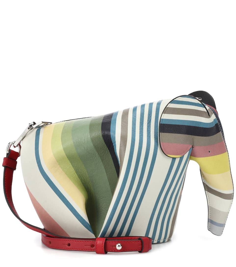 Sac cross-body en cuir Elephant