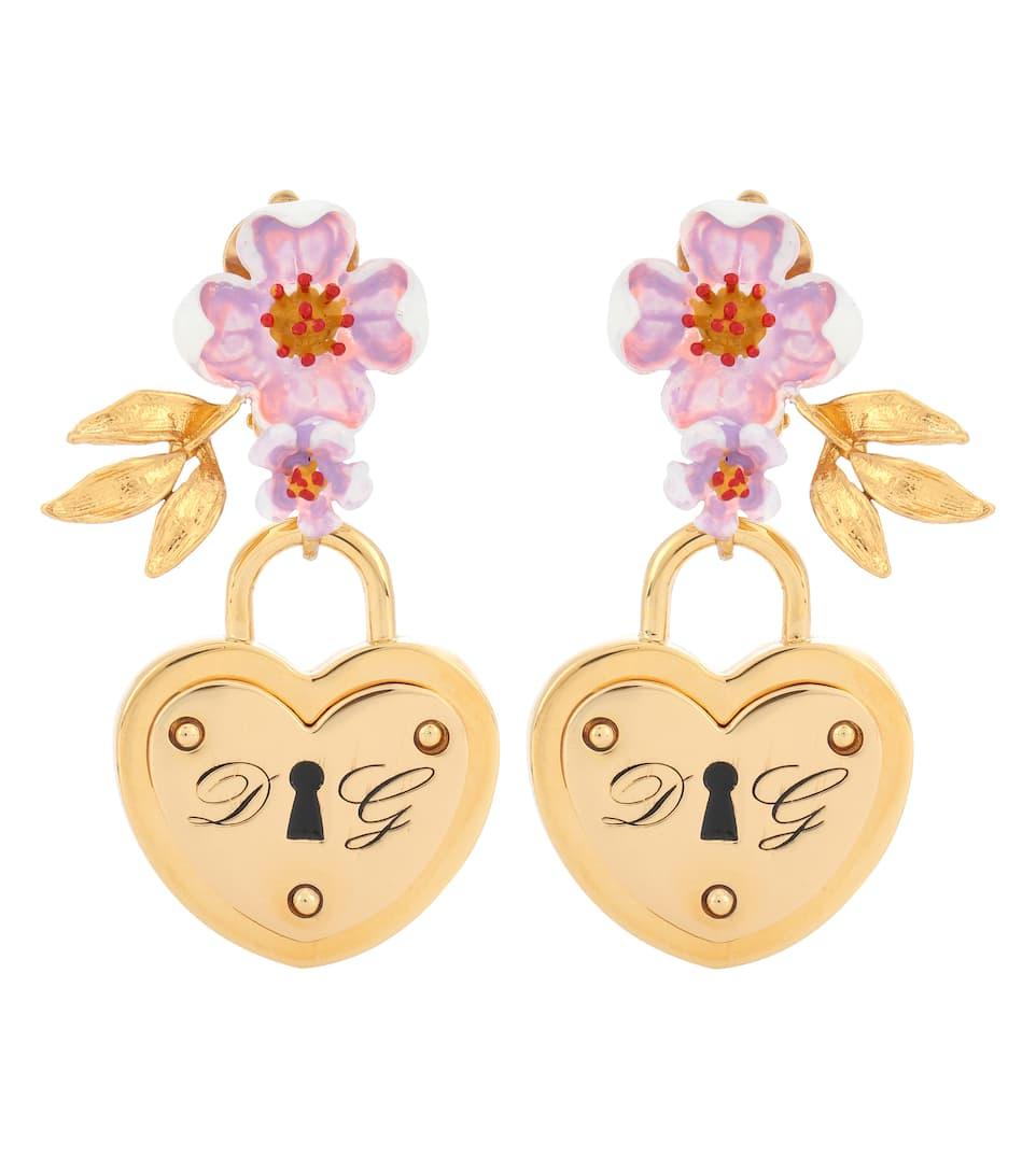 Locket clip-on earrings Dolce & Gabbana ler2LgP0y
