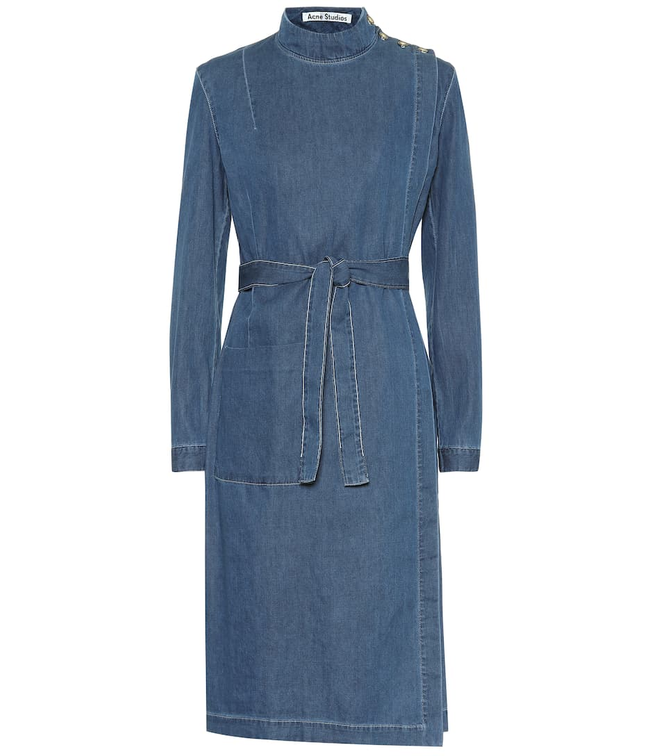 Belted Denim Dress by Acne Studios