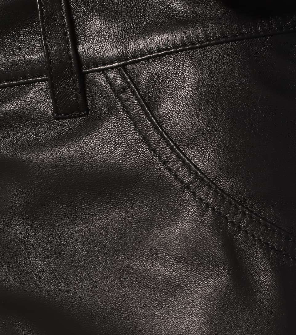 Unravel - Leather shorts