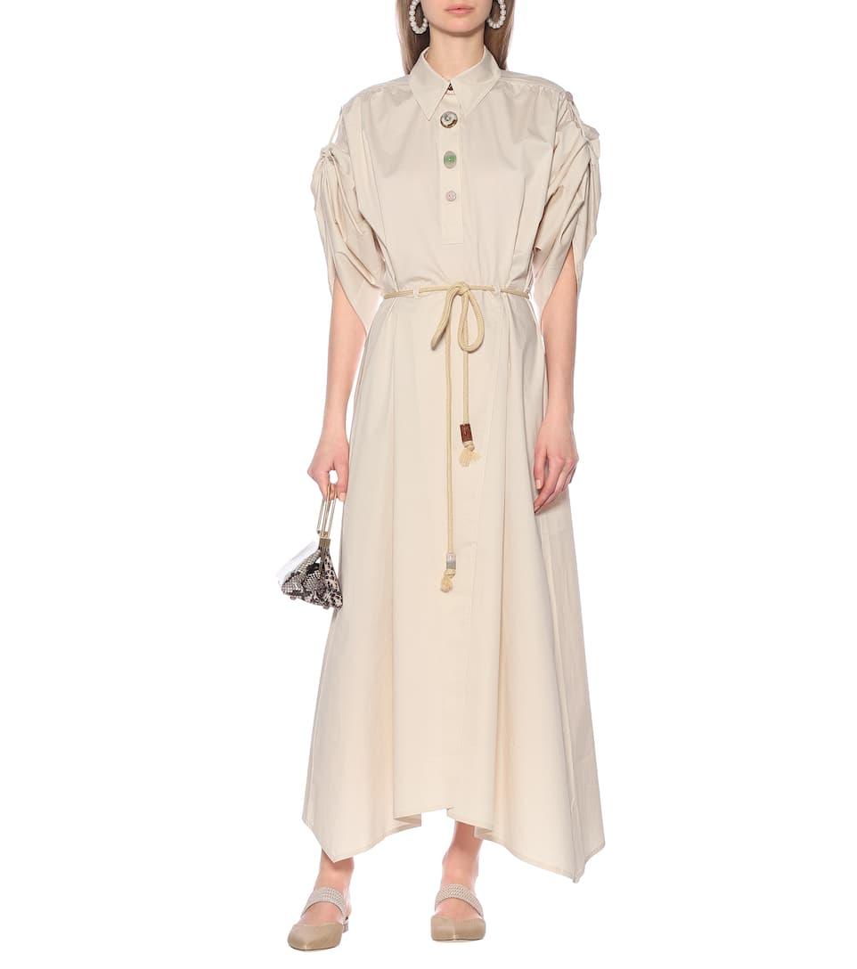 Nanushka - Hanna cotton midi dress