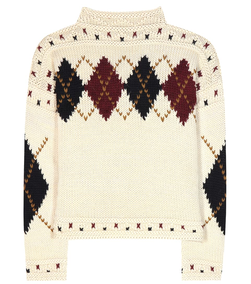 Isabel Marant Glens wool and alpaca sweater
