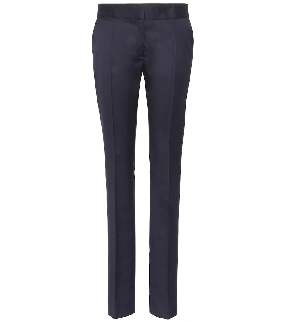 Stella Mccartney Pants Anna From Wool-crêpe