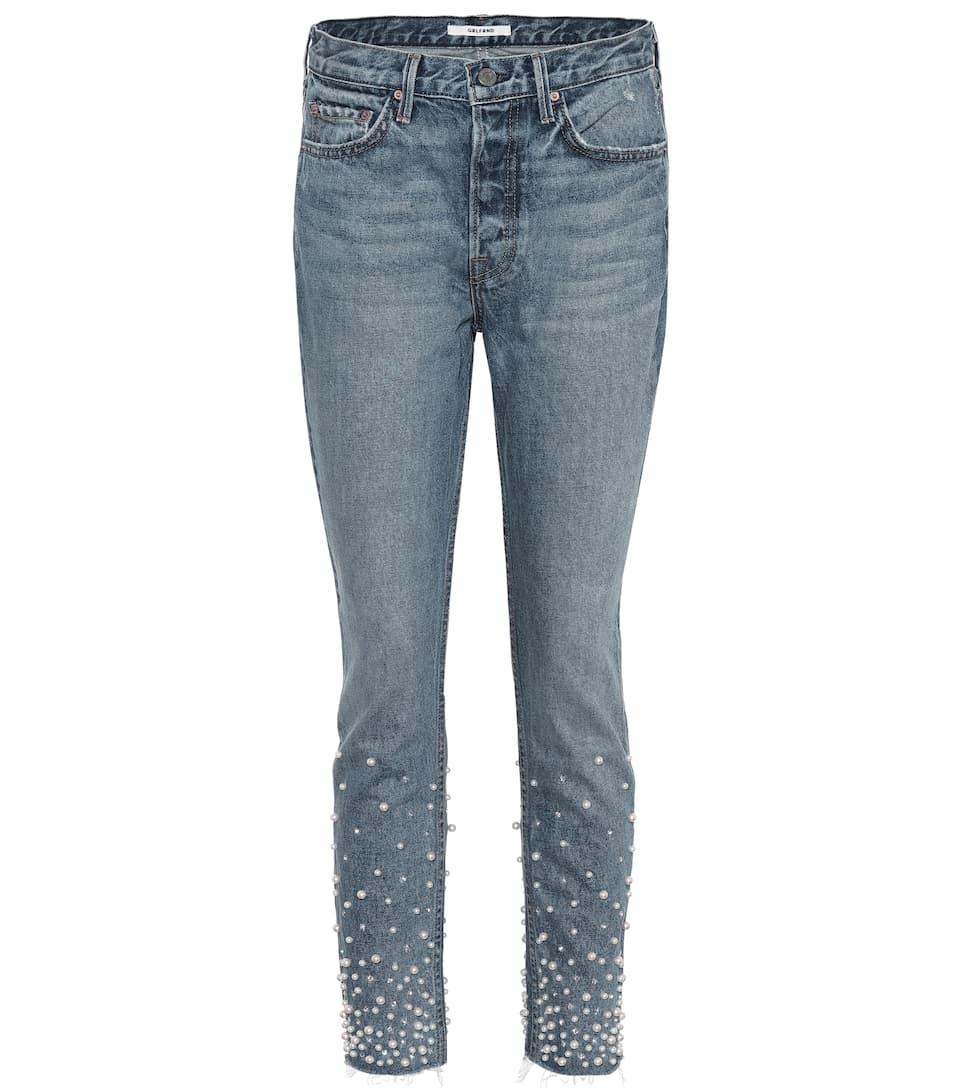 Grlfrnd Verzierte Skinny Jeans Karolina