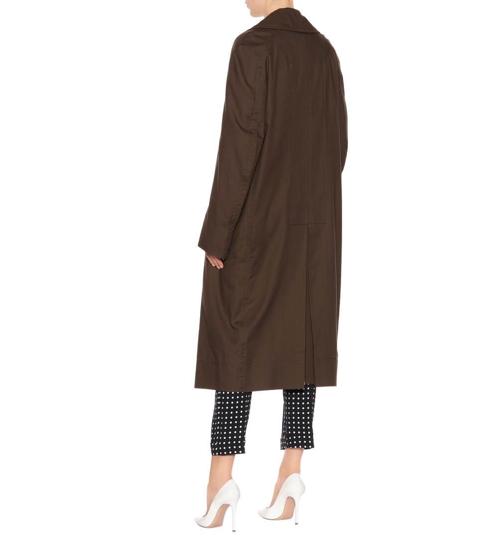 Haider Ackermann Mantel aus Baumwolle