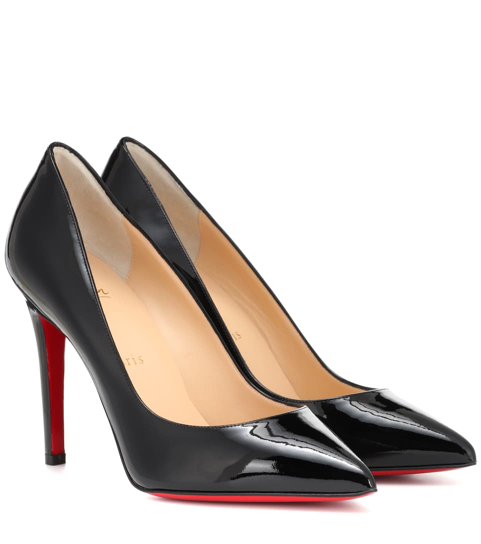 Pumps Pigalle 100 In Vernice by Christian Louboutin