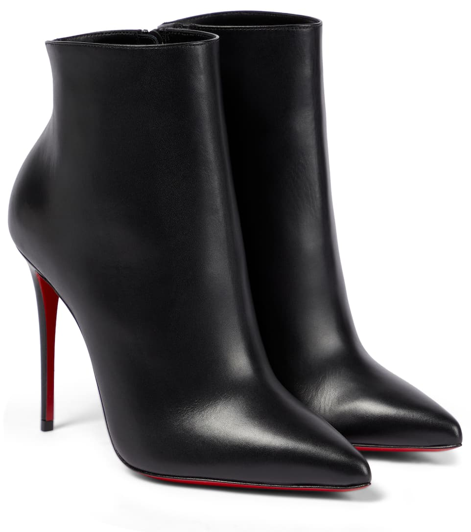 san francisco 9efae 8ba28 Christian Louboutin - So Kate 100 leather ankle boots ...