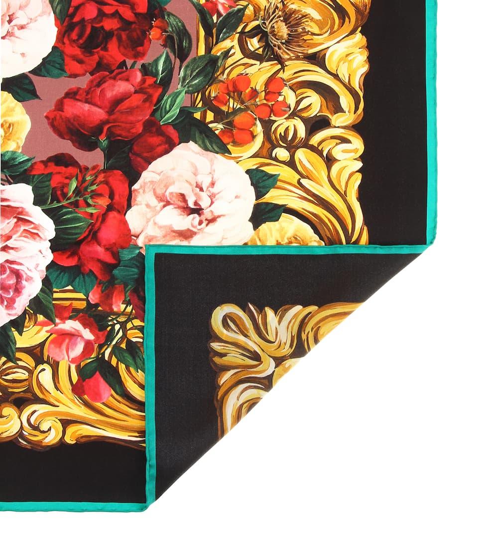 Soie Dolceamp; GabbanaN° En Artnbsp;p00417126 Foulard Imprimé PZTkwOXiu