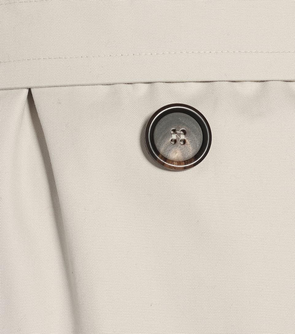 Max Mara - Etrench cotton trench coat
