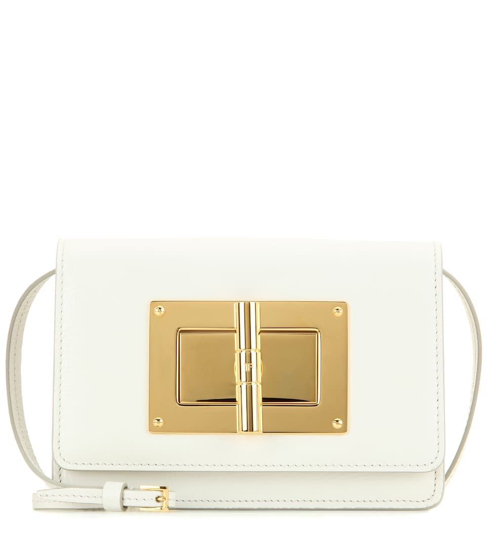08b51f974d3a1 Tom Ford - Natalia Small leather shoulder bag