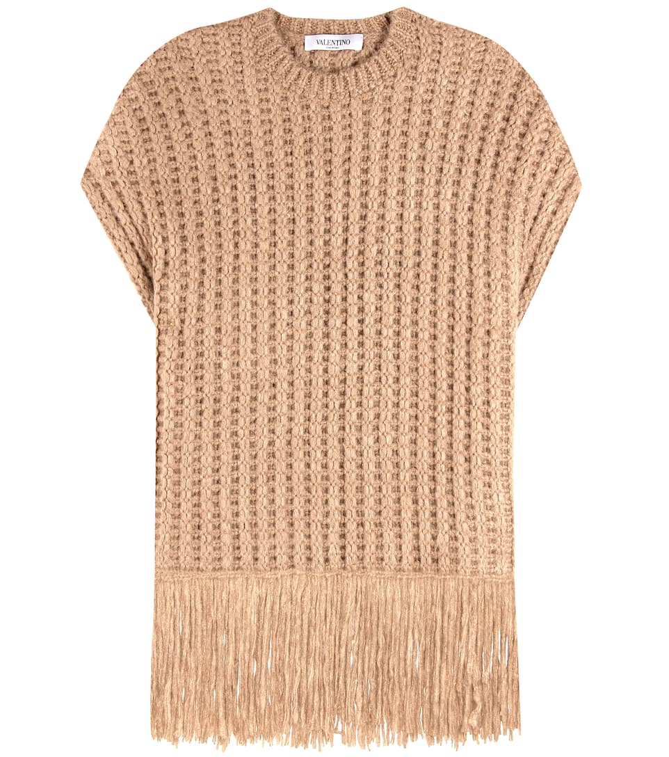 Knitted Silk Sweater by Valentino