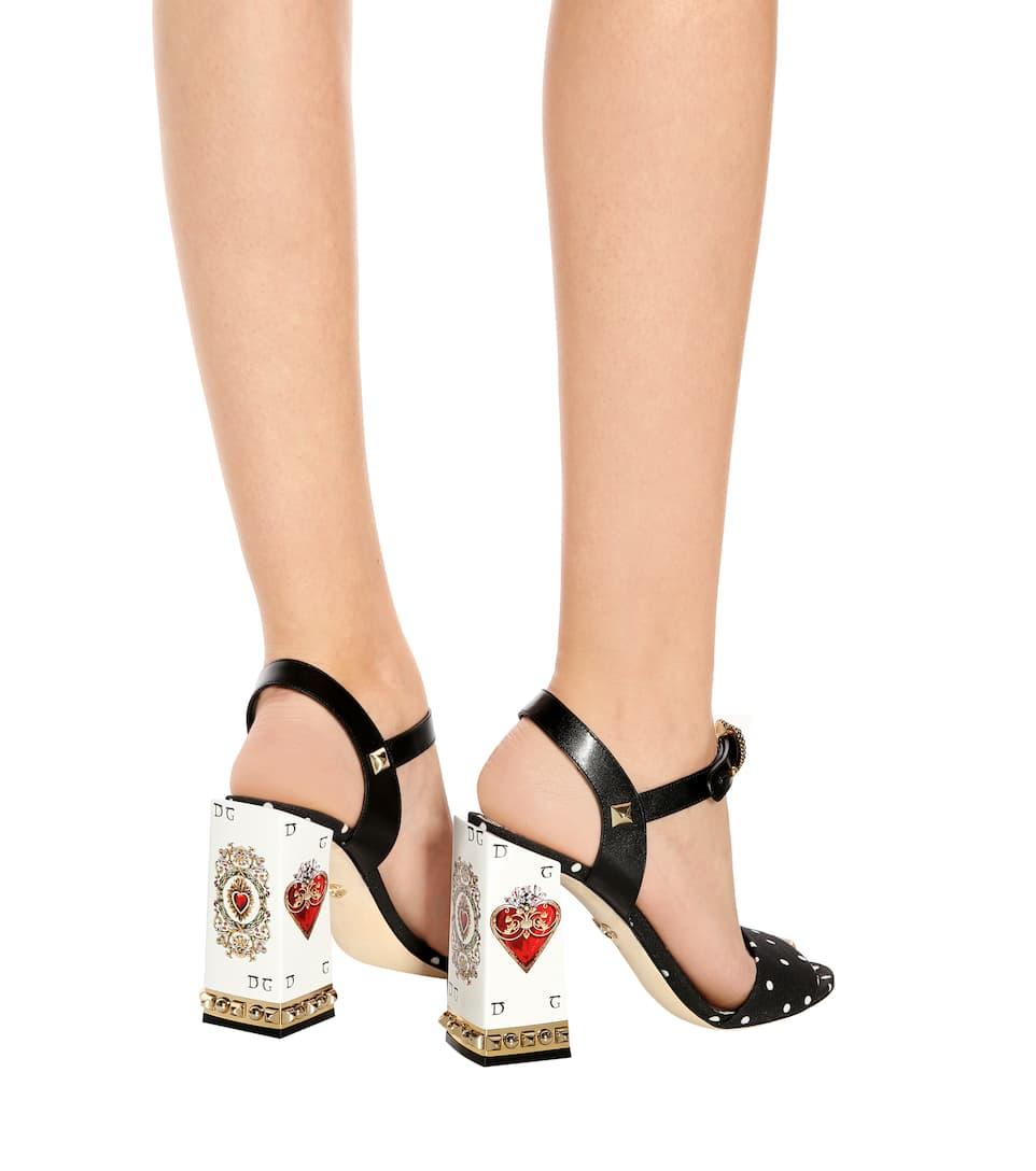 Ja Wirklich Mit Kreditkarte Günstig Online Dolce & Gabbana Sandalen aus Cady und Leder Günstig Kaufen 2018 Neueste Neue Stile Günstig Online Verkauf Freies Verschiffen 5sSKzAj