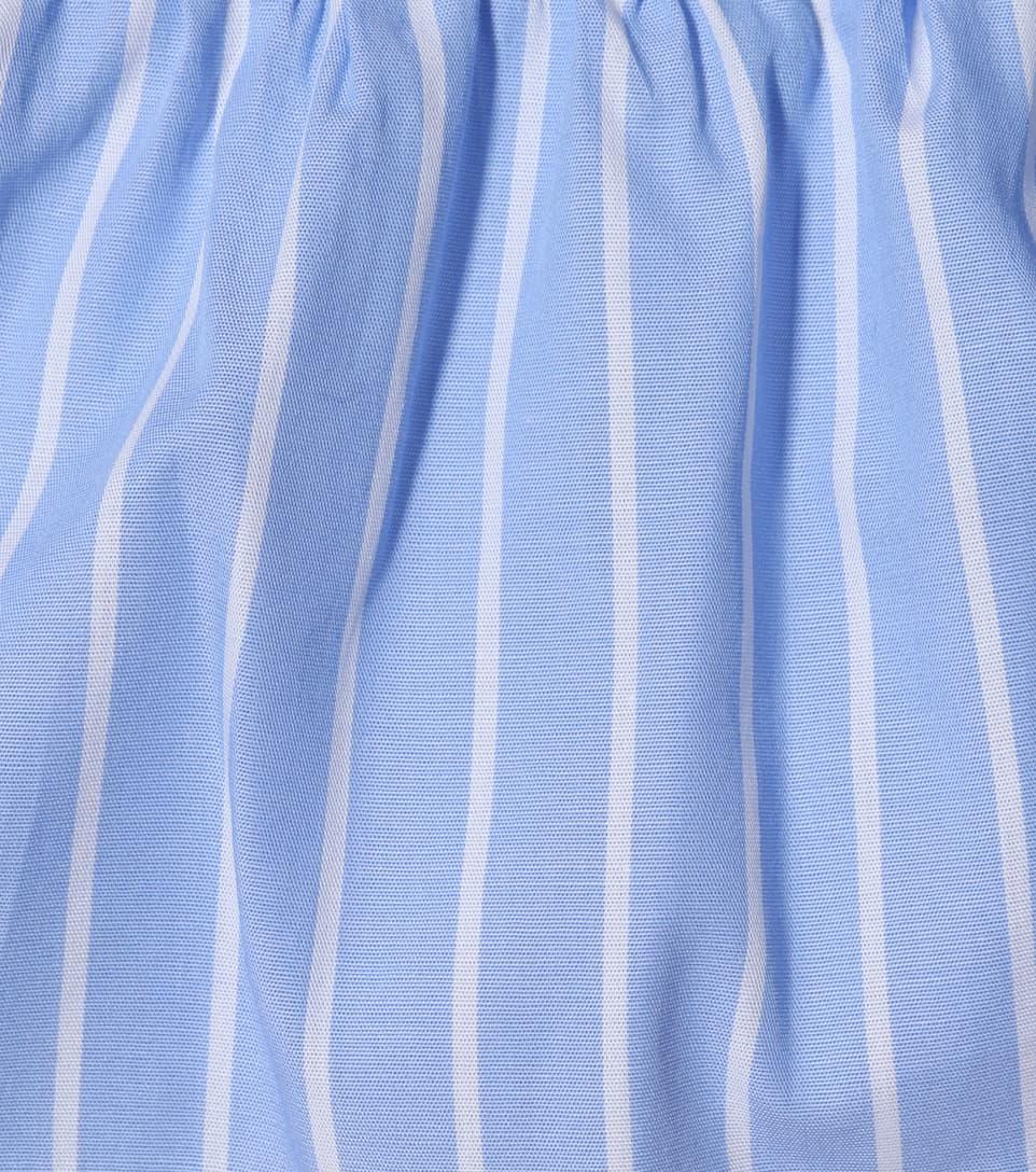 Miu Miu Cropped Top aus Baumwolle