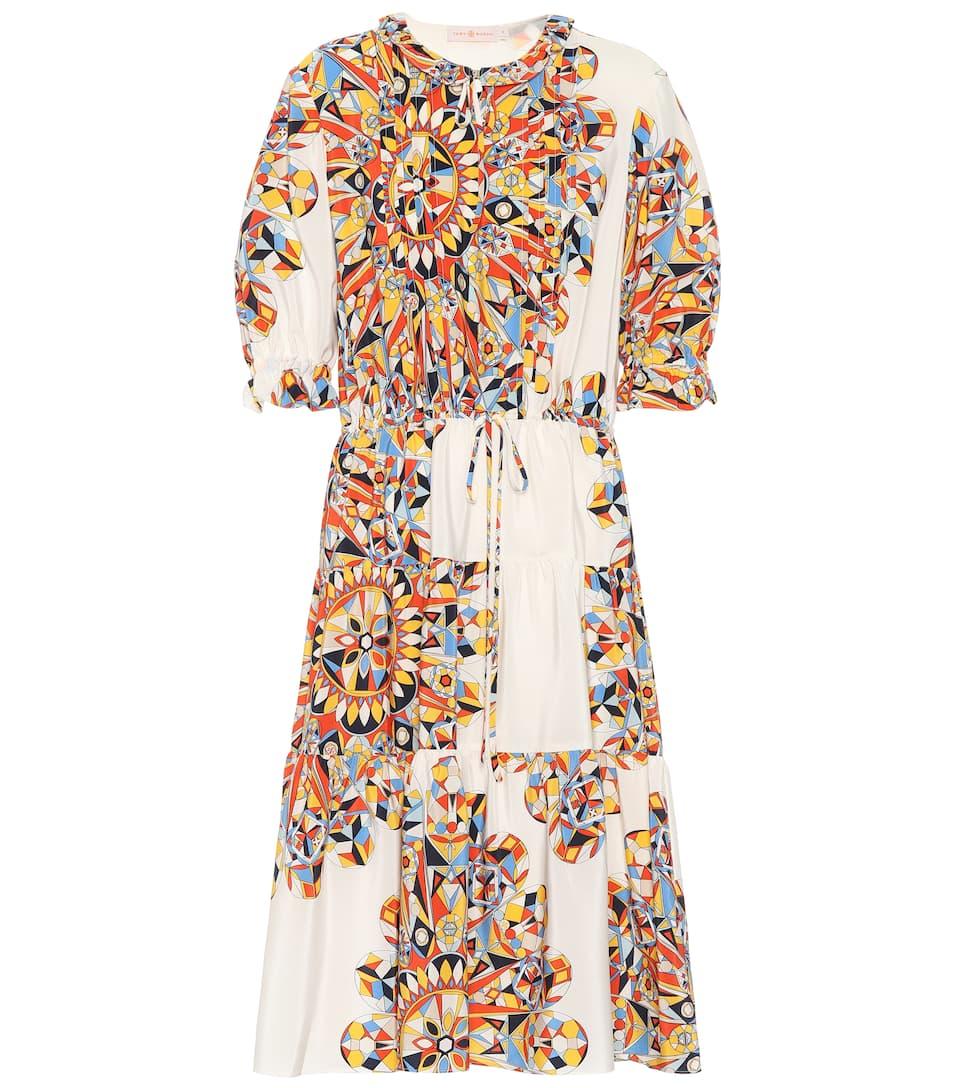 4cfbe23b87fd Arabella Printed Silk Dress