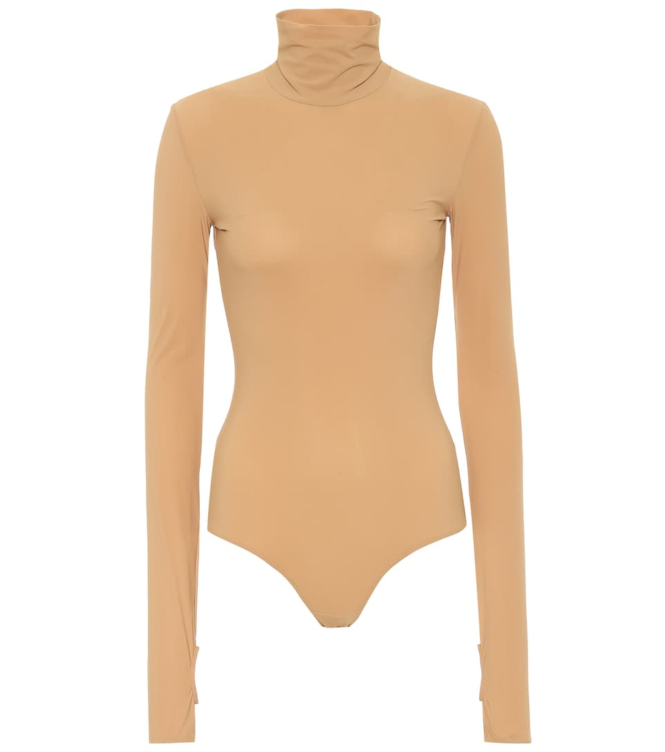 Turtleneck Bodysuit by Mm6 Maison Margiela
