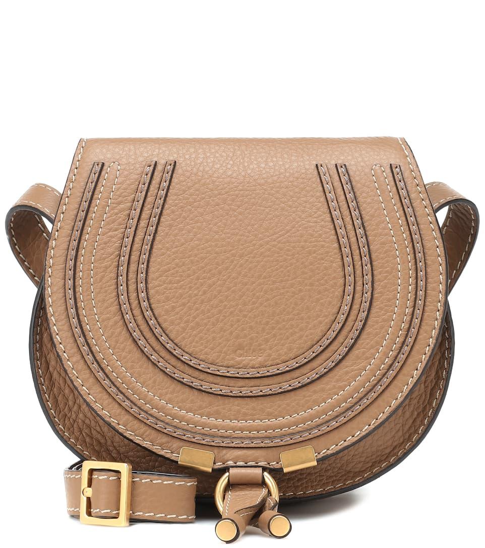Marcie Mini leather shoulder bag