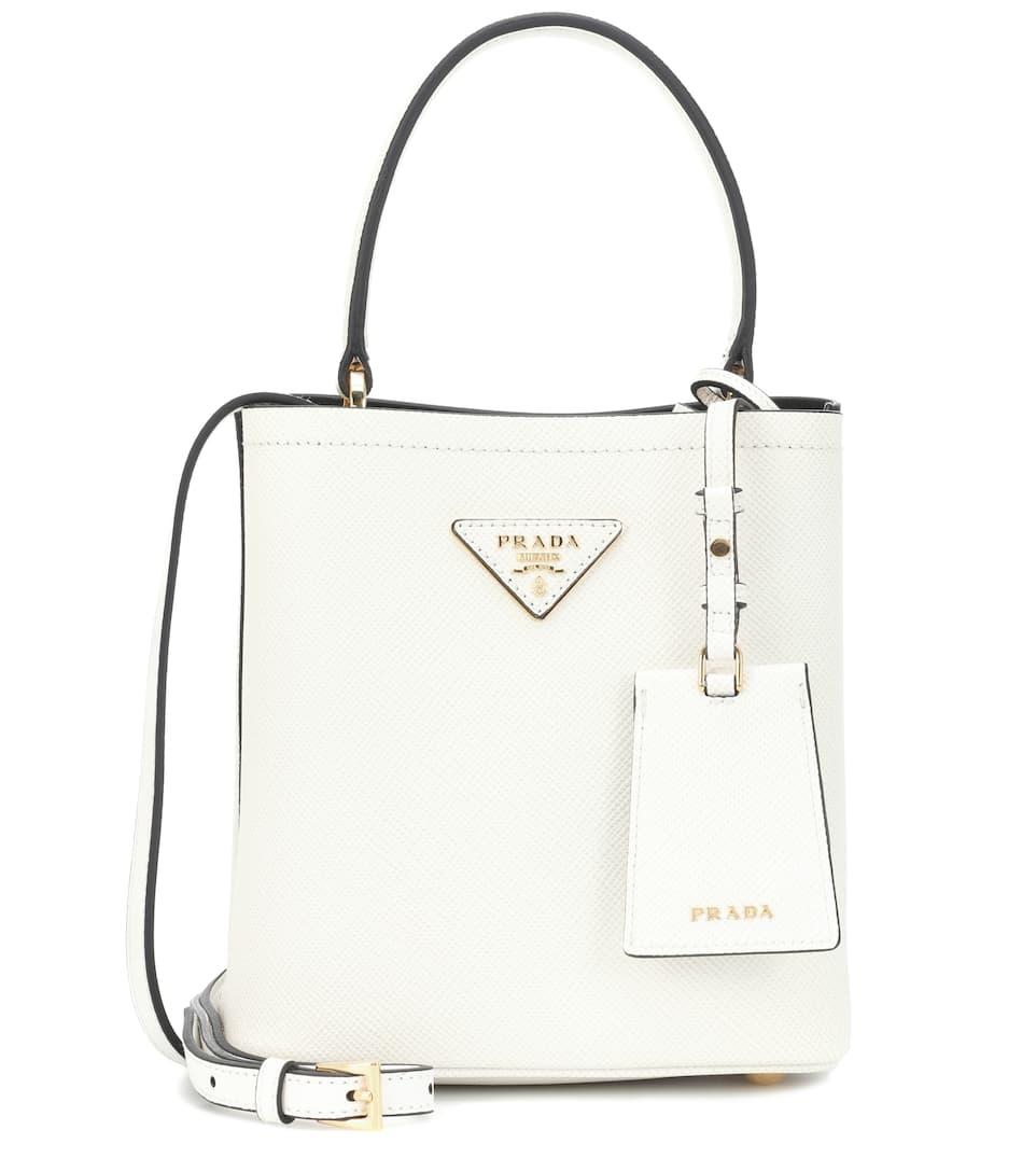 5d4eab459 Panier Small Leather Shoulder Bag | Prada - Mytheresa