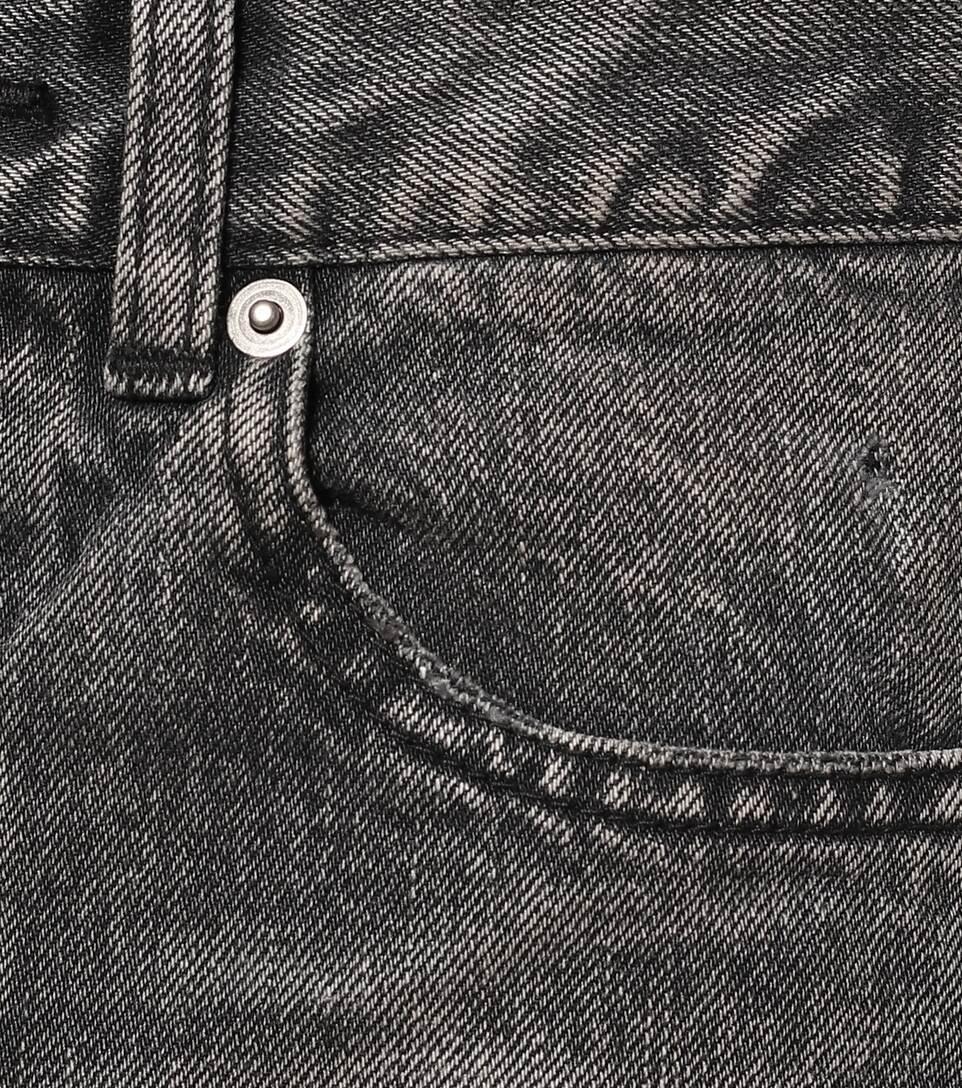 High-Rise Slim-Leg Jeans - Saint Laurent