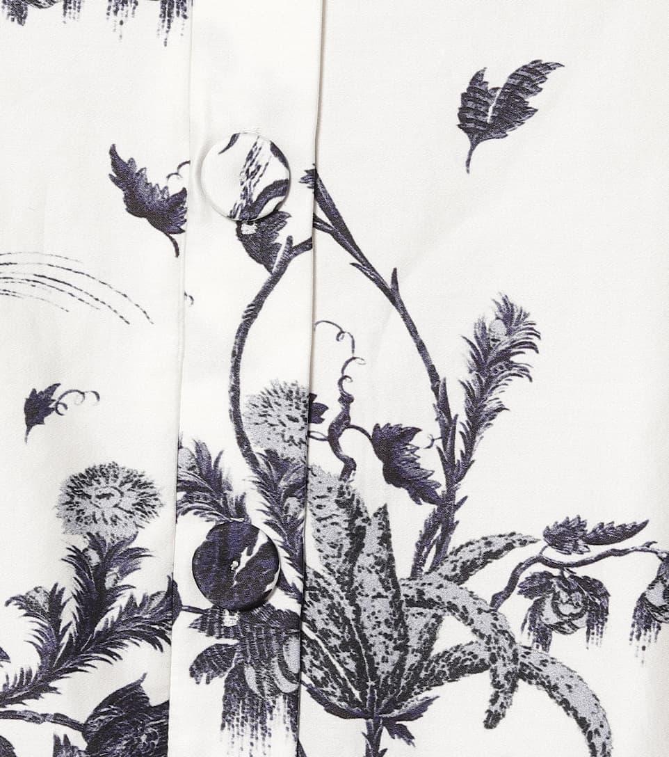 Erdem - Mariona printed cotton dress