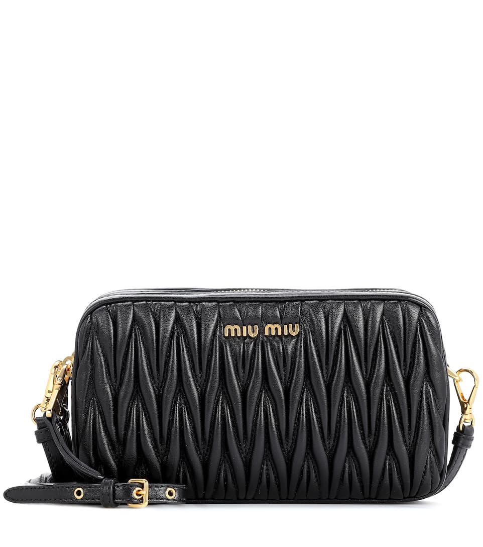 04614a67ba5 Matelassé Leather Shoulder Bag - Miu Miu