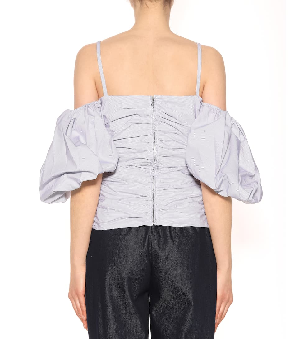Isa Arfen Off-Shoulder-Top aus Baumwolle