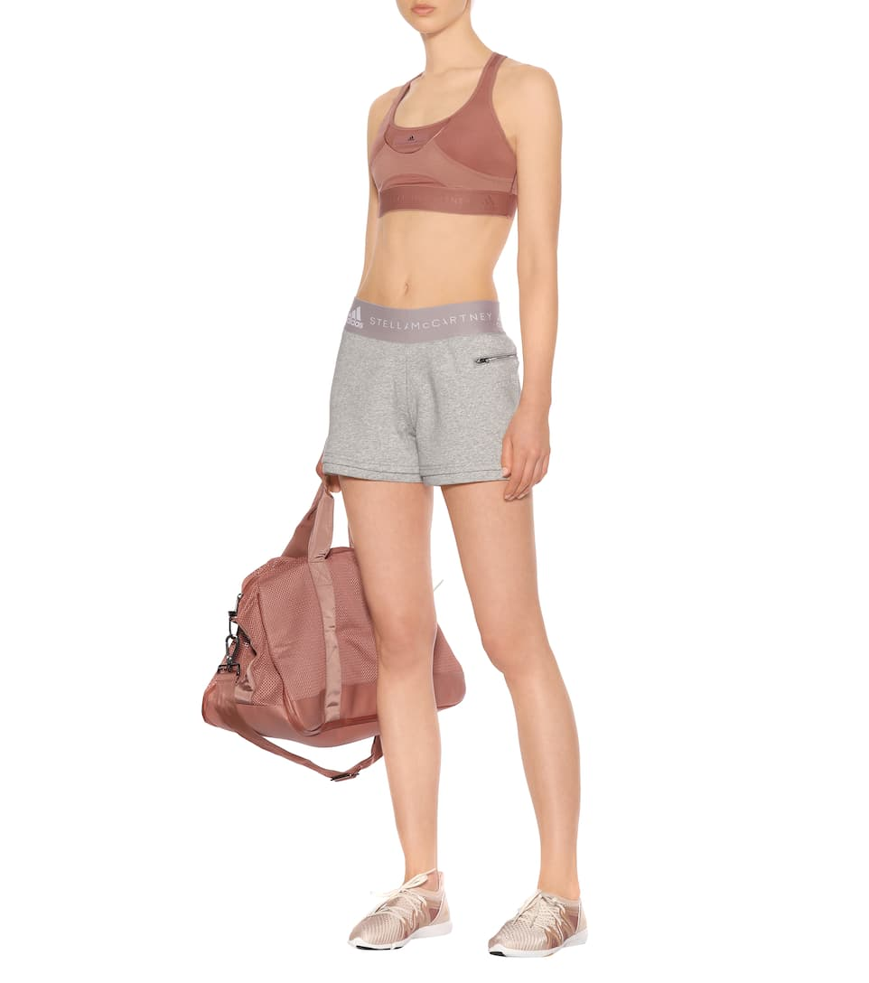 Cotton Mixture Adidas By Stella Mccartney Shorts From A