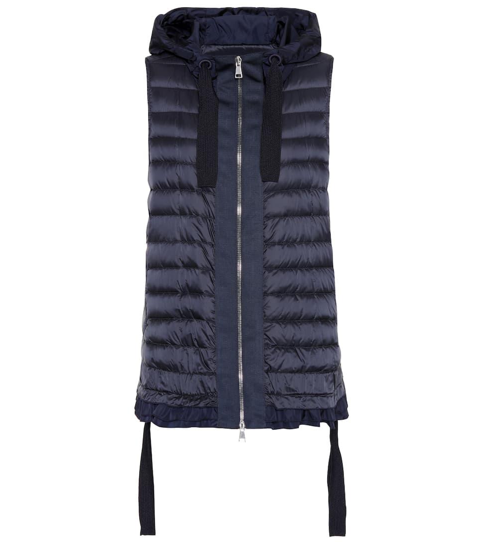 a58e1886b Moncler - Hooded puffer vest