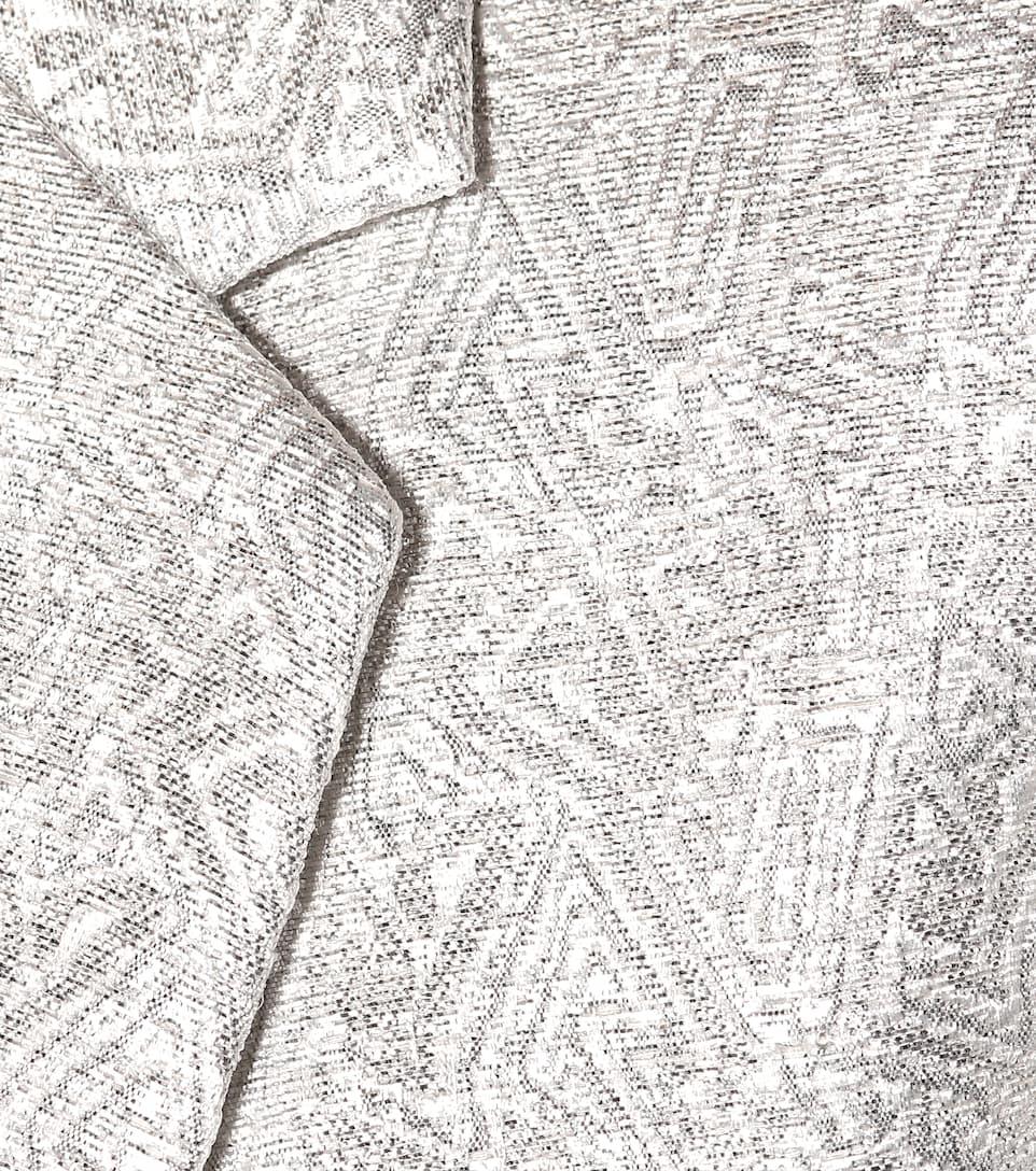 Dries Van Noten Mantel aus Brokat
