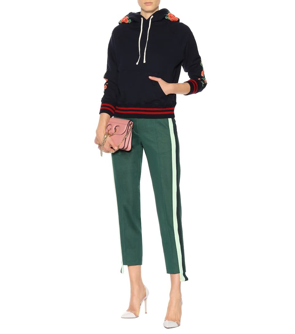 Mother The Square embroidered hoodie Intertwined Best Store To Get Sale Online Get To Buy Online Outlet Low Price JG5hy