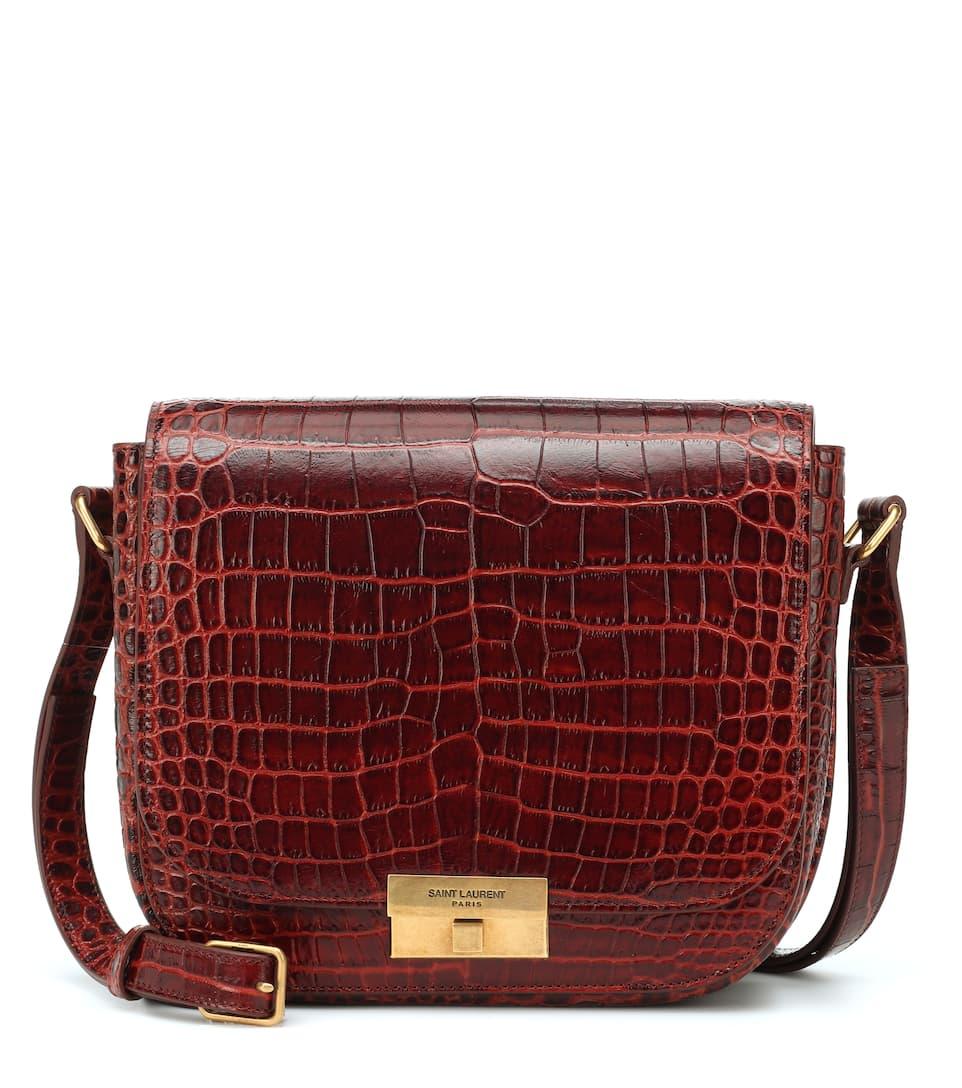 7c37a574c30 Betty Leather Crossbody Bag - Saint Laurent   mytheresa