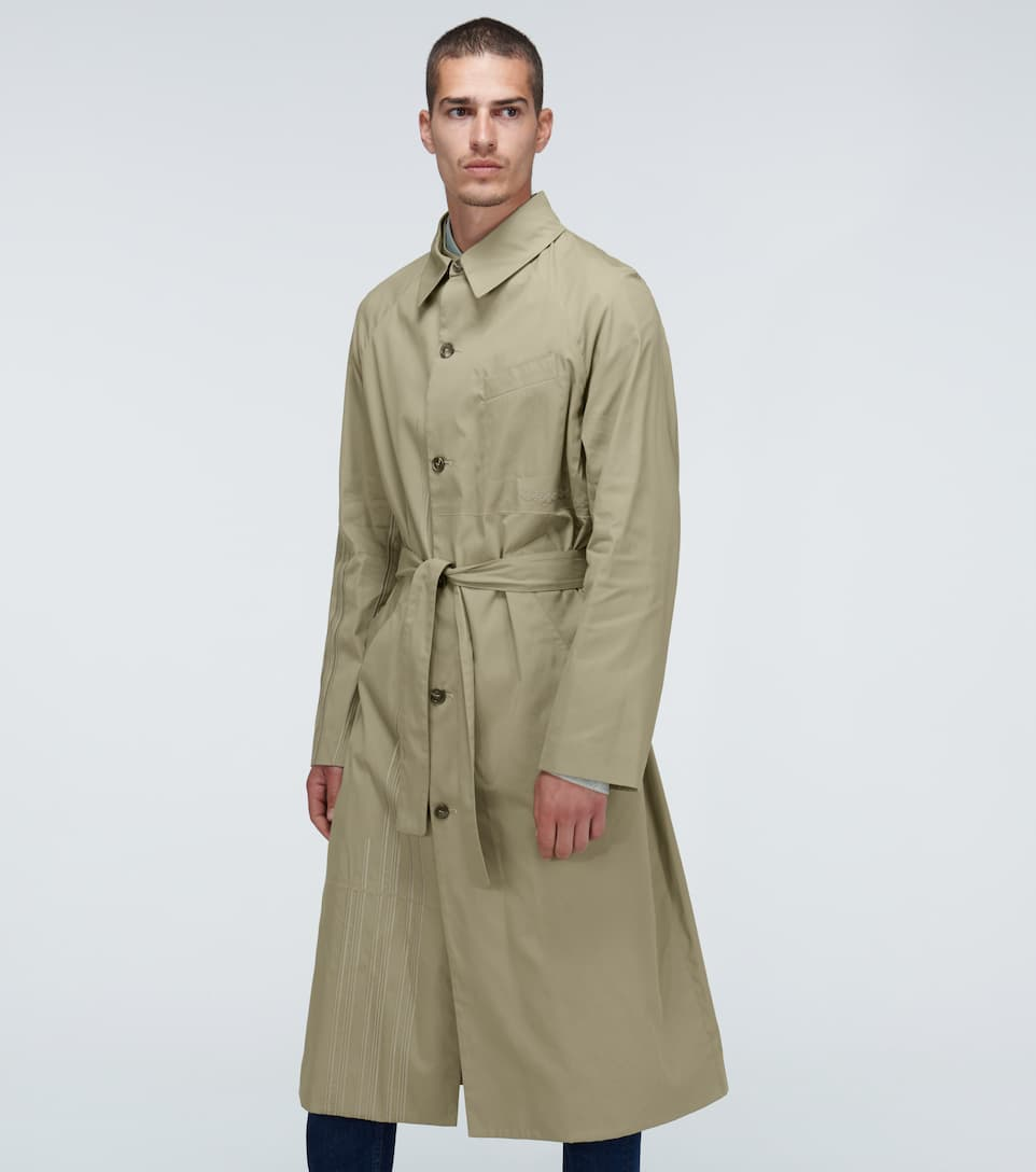 Embroidered Quinto trench coat
