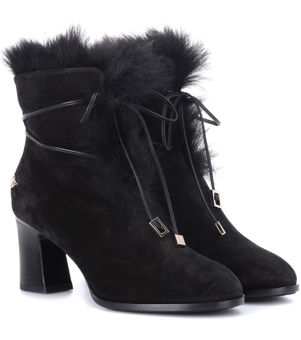 Roger Vivier Ankle Boots Chunky Trompette