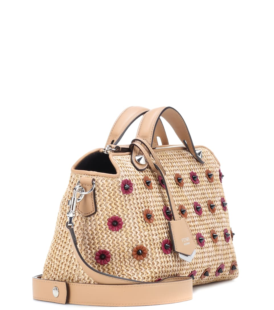 Fendi Tote By The Way Small aus Stroh