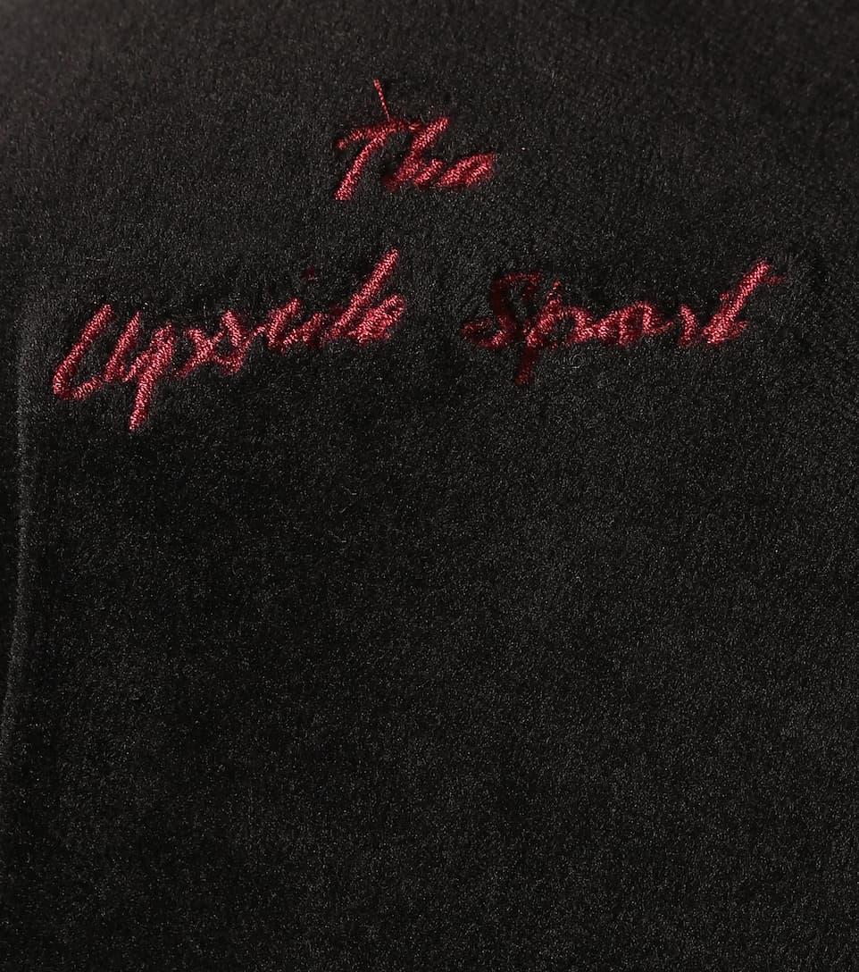 de sudadera con The Hoya Upside negro capucha terciopelo nS6zXg4