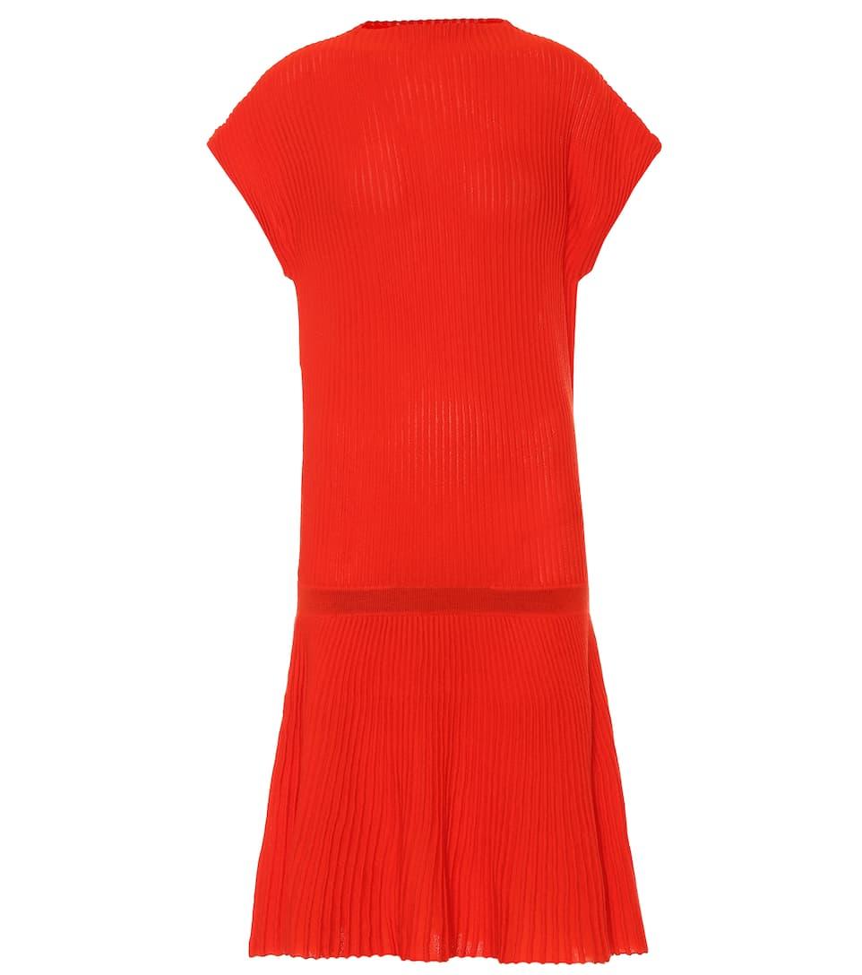 e22045ae3990f Rib-Knit Wool Dress - Victoria Victoria Beckham   mytheresa.com