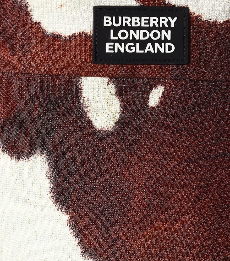 63d9f847d2c Burberry - Linen and cotton miniskirt