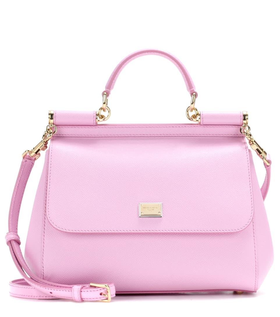 Miss Sicily Medium leather shoulder bag Dolce & Gabbana V3kV4c