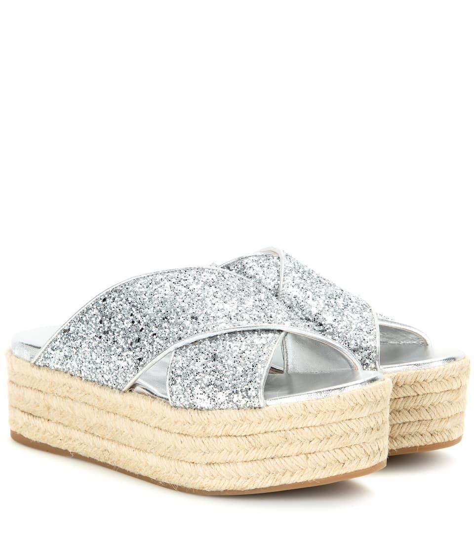 Miu Platform Platform SandalsMytheresa Glitter SandalsMytheresa Glitter SandalsMytheresa Miu Platform Miu Glitter Miu Platform Glitter Ybf76gIvy
