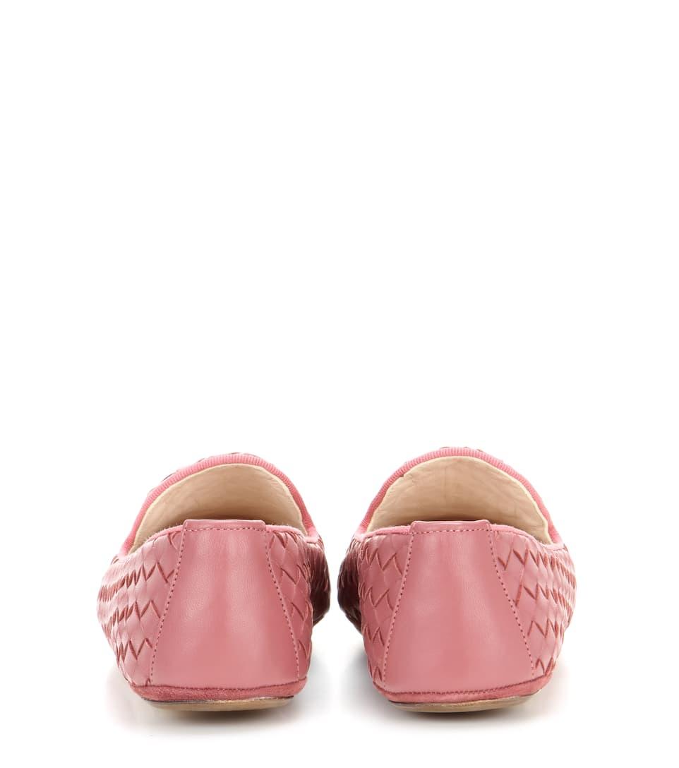 Gutes Verkauf Günstiger Preis Bottega Veneta Slippers aus Intrecciato-Leder Preiswerte Art Und Stil Erscheinungsdaten Günstigen Preis Offizielle Zum Verkauf ZuSDqI5Kz