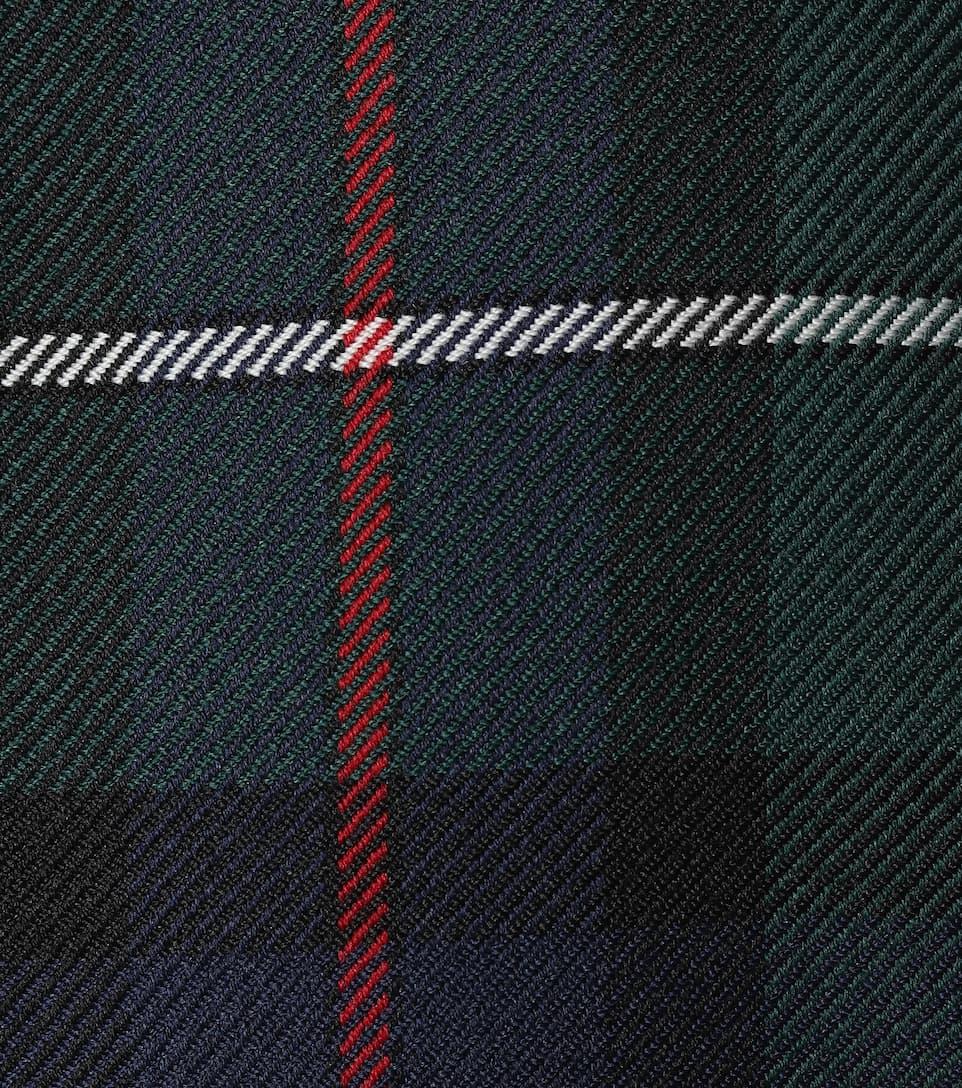 Forrest lana de de Tartan estribo Green Burberry pantalones W6wHYqnWA