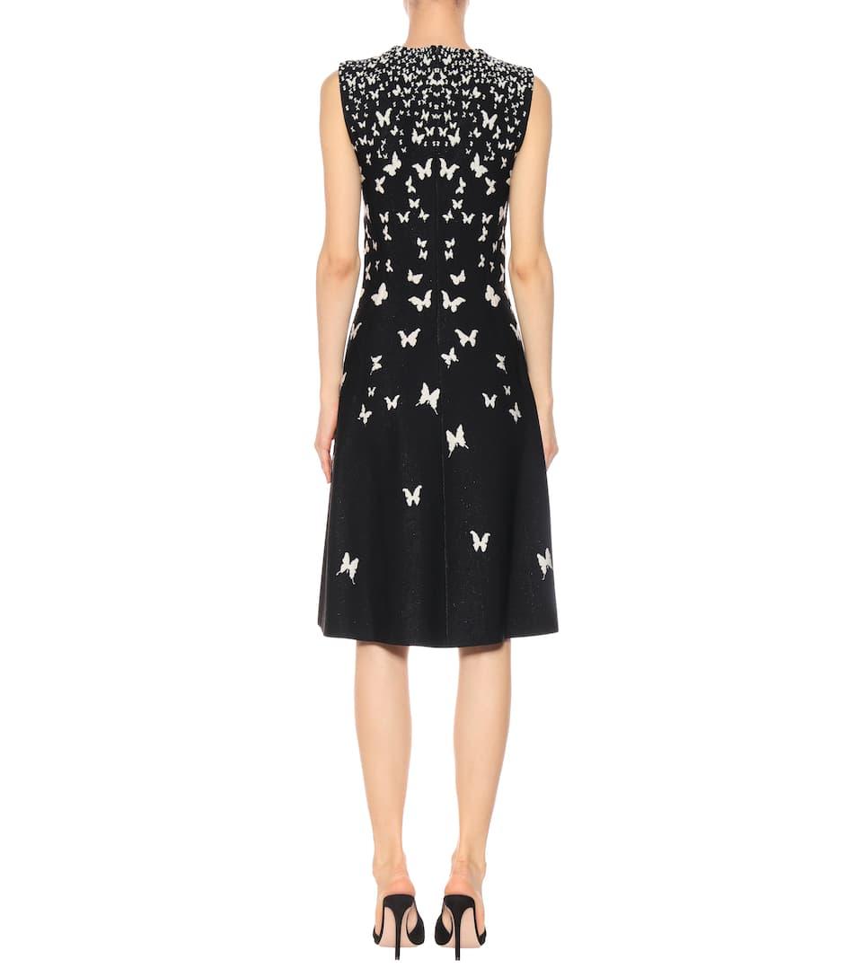 Bottega Veneta Kleid mit Metallic-Fäden