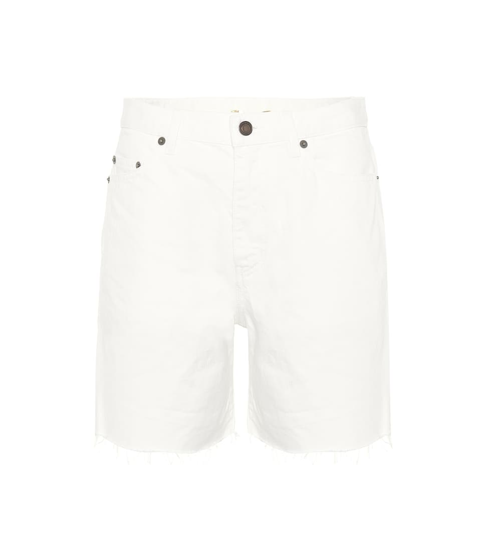 Cotton shorts Saint Laurent bayyMGw