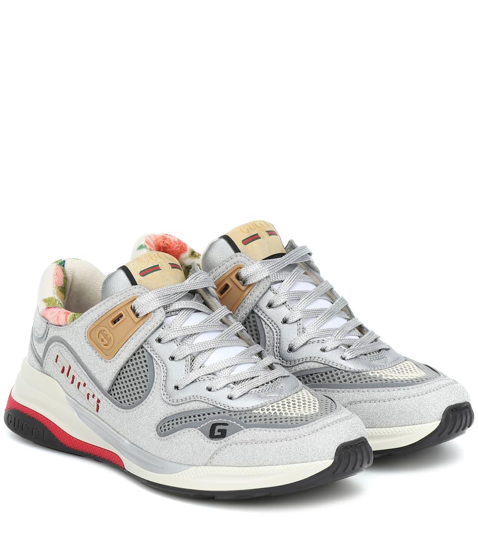 Gucci - Ultrapace mesh sneakers | Mytheresa