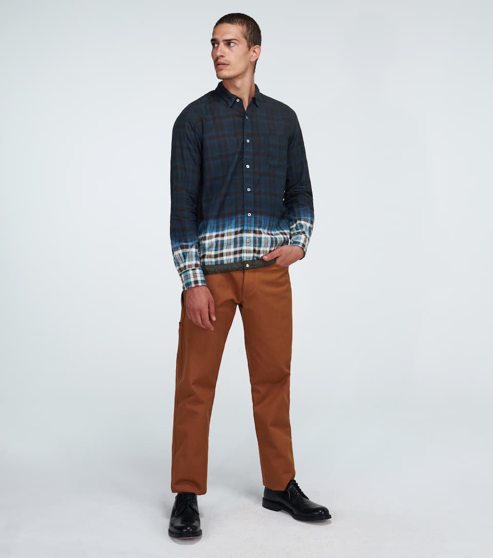 Sacai - Madras Checked Shirt Big Discount