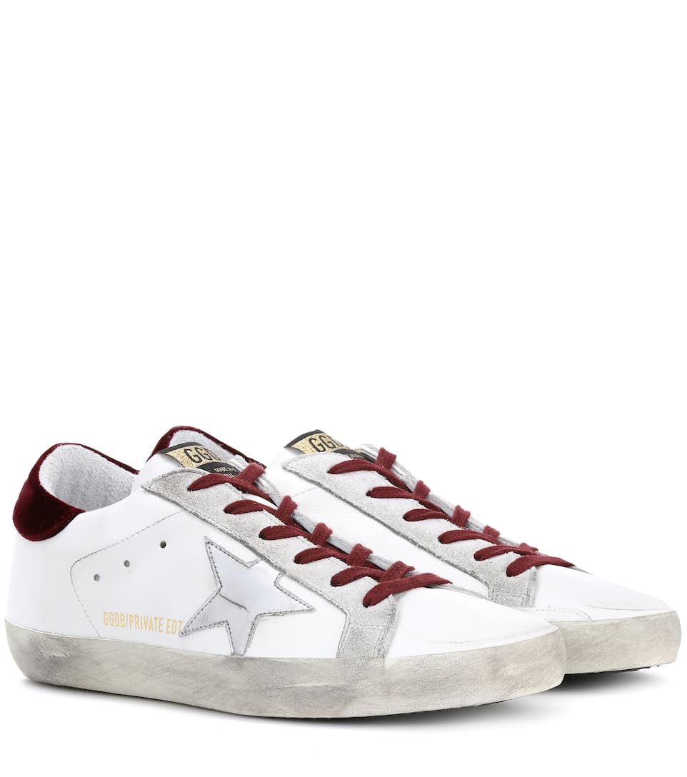 Exclusive to mytheresa.com - Superstar leather sneakers Golden Goose MCKAW1Ud