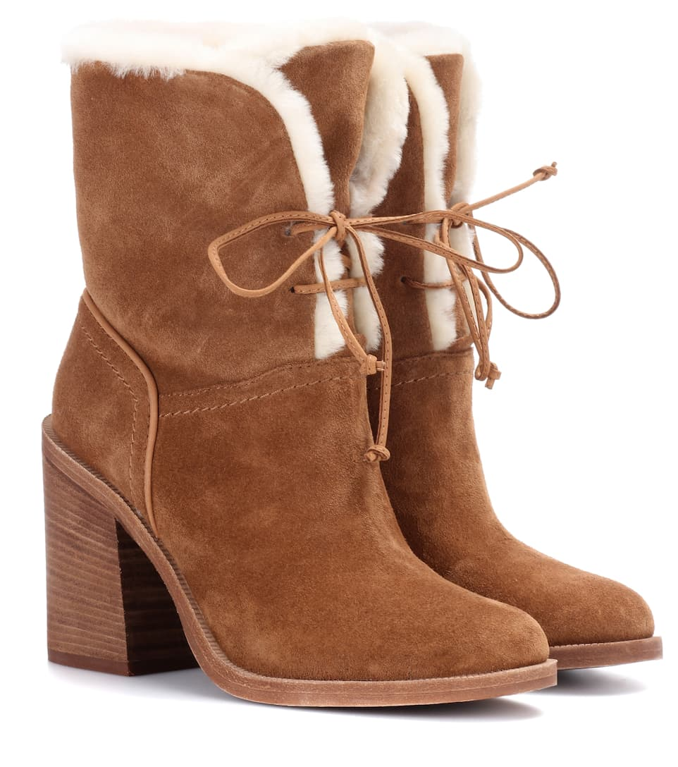 Jerene Suede Ankle Boots Ugg Australia Mytheresacom - Free custom invoice template official ugg outlet online store