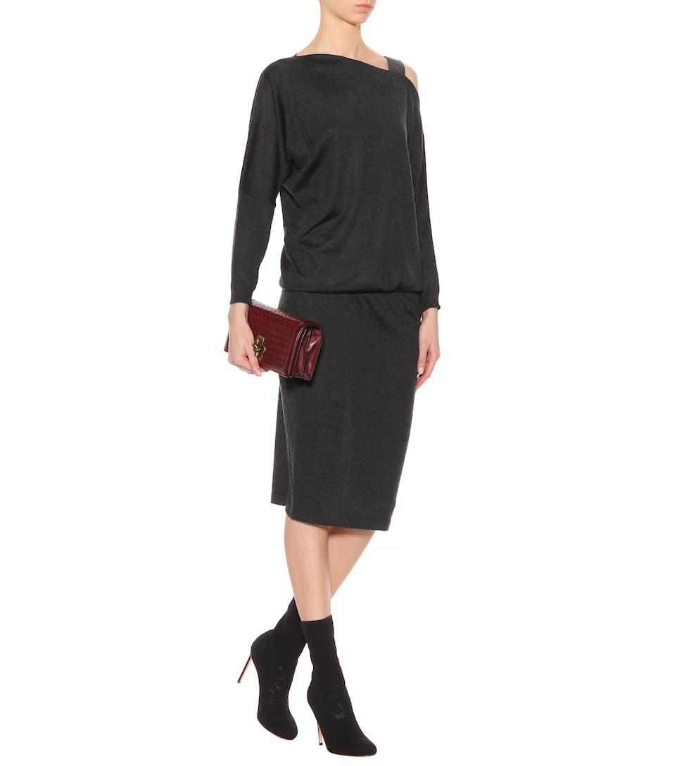 Brunello Cucinelli Kleid aus Cashmere und Seide